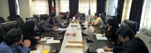 برگزاری جلسه هماهنگی کنفرانس معرفی توانمندی های داخلی تولید و کاربرد انواع لوله در طرح های توسعه منابع آب کشور